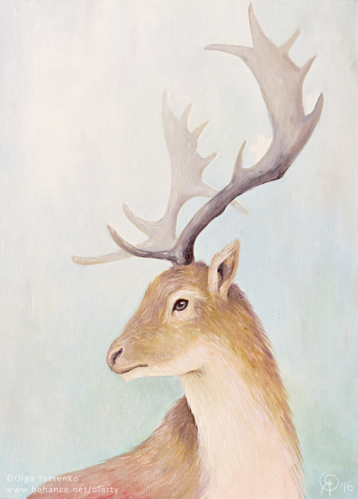 Artwork_artist_Olga_Yatsenk_deer