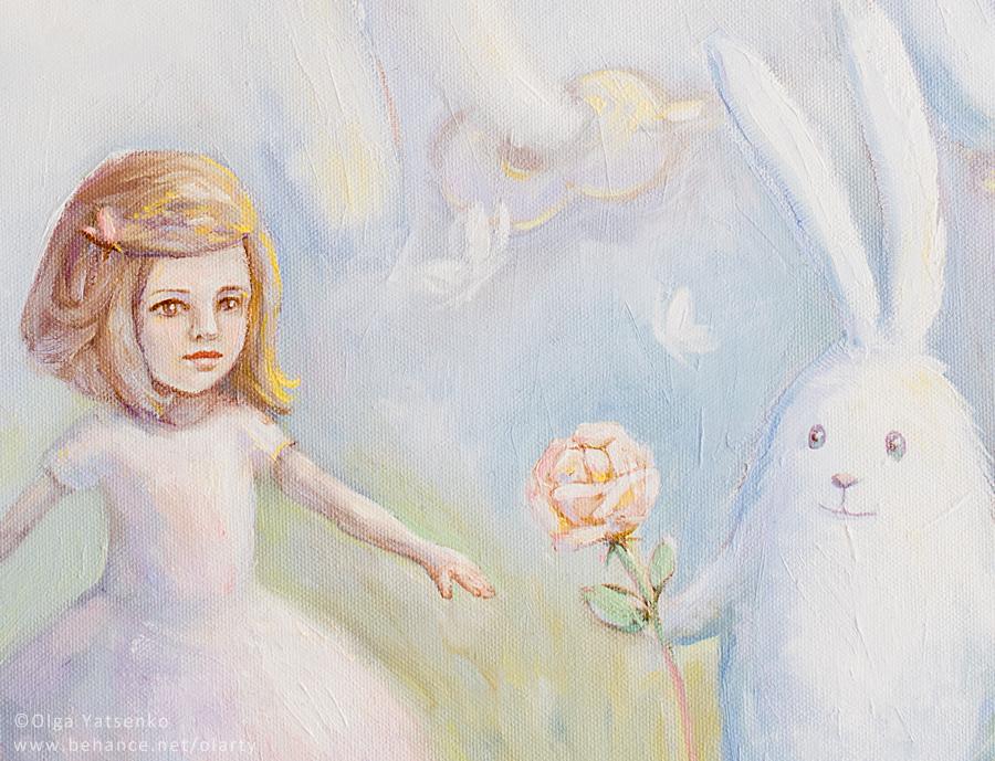Rabbits2_Artist Olga yatsenko