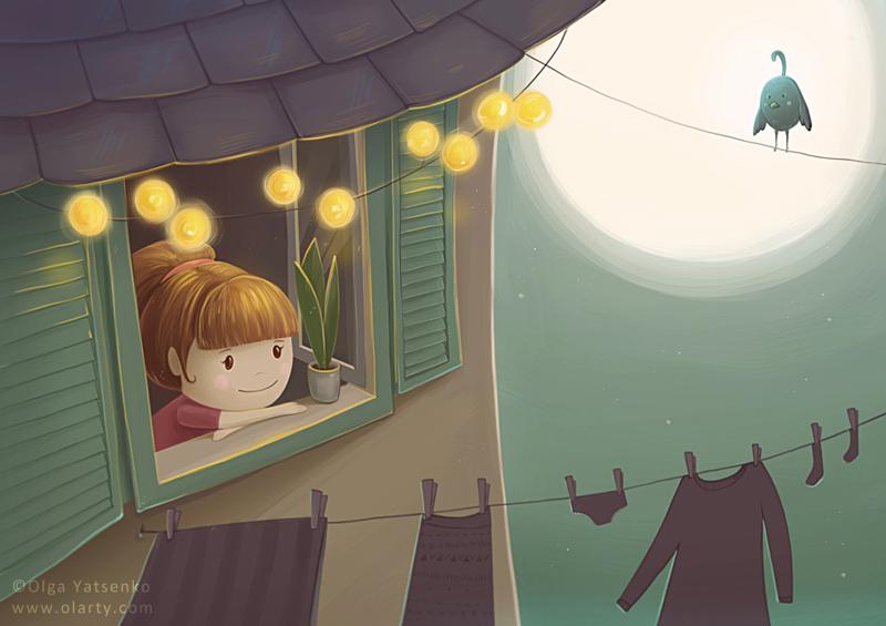 evening_moon_olarty_Olga_Yatsenko